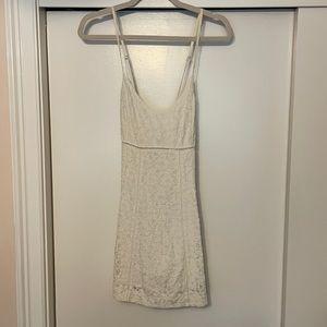 Aritzia Sunday Best White Lace Dress
